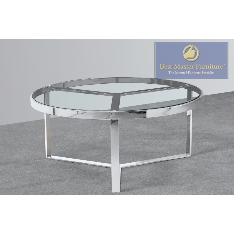 Excellent E63 Modern Round Coffee Table Best Master Furniture Bralicious Painted Fabric Chair Ideas Braliciousco