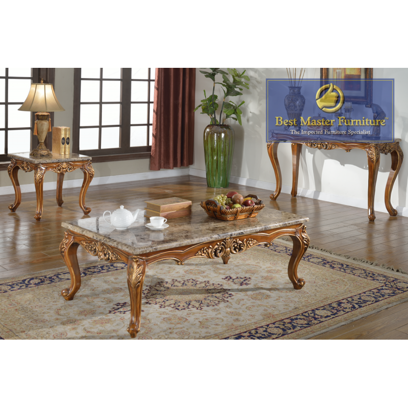 150 Marble Coffee Table Set Best Master Furniture