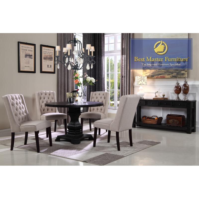 Round Dining Set Best Master Furniture