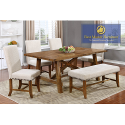 YU201 Transitional Dining Set