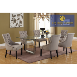 T1805 Mirrored Dining Set