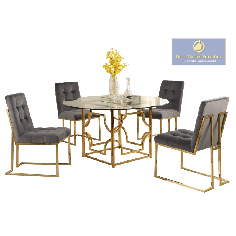 E53 Modern Dining Set Best Master Furniture
