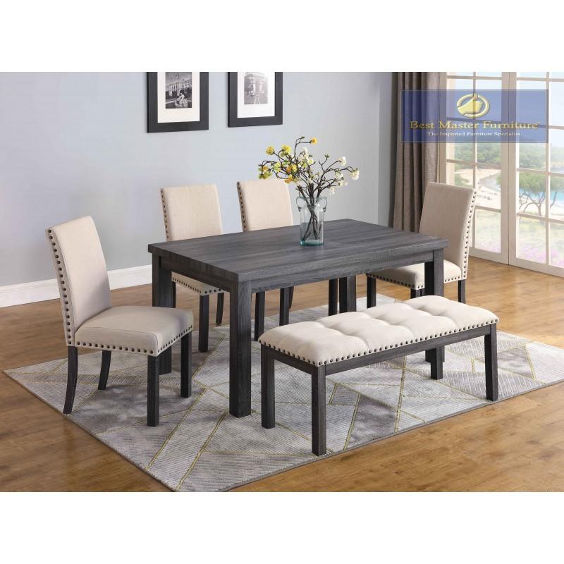 H800 Transitional Dining Set Best Master Furniture