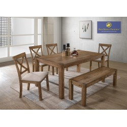 Janet Transitional Dining Set