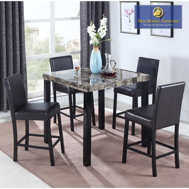 Incredible Cd037 Transitional Counter Height Set Best Master Furniture Bralicious Painted Fabric Chair Ideas Braliciousco