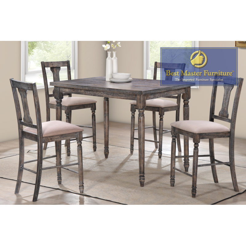 Outstanding Demi Transitional Counter Height Set Best Master Furniture Bralicious Painted Fabric Chair Ideas Braliciousco