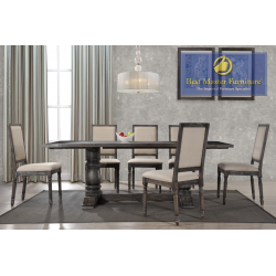 Lisa Transitional Dining Set