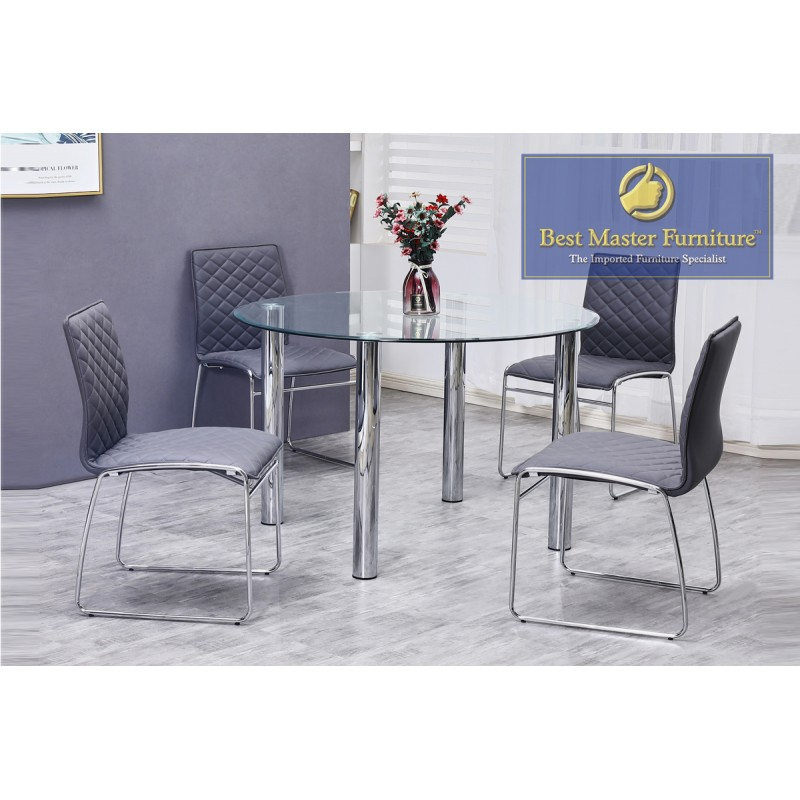 Cool T07 Modern Dining Set Best Master Furniture Caraccident5 Cool Chair Designs And Ideas Caraccident5Info