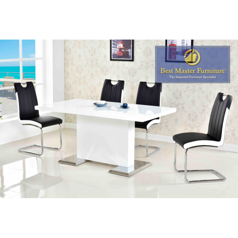 Swell Ba219 Modern Dining Set Best Master Furniture Caraccident5 Cool Chair Designs And Ideas Caraccident5Info