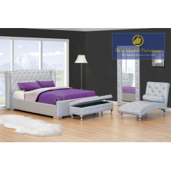 JP02 Upholstered Bed