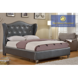 1018 Upholstered Bed