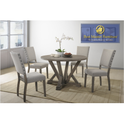ANNA Transitional Dining Set