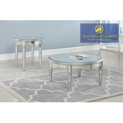 T1801 Mirrored Coffee Table...