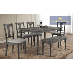 Demi Transitional Dining Set
