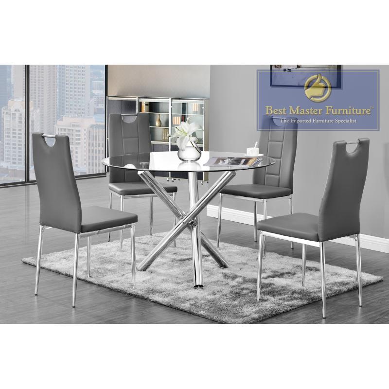 Fantastic T248 Modern Dining Set Best Master Furniture Caraccident5 Cool Chair Designs And Ideas Caraccident5Info