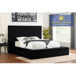 YY136 Upholstered Bed