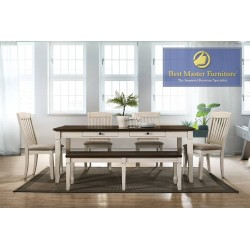 Belle Transitional Dining Set
