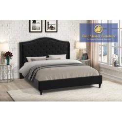 YY131 Velvet Upholstered Bed