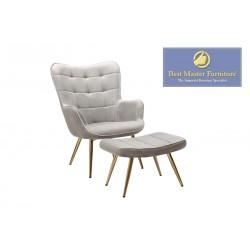 WX2931 Velvet Accent Chair Set