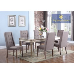 T1810 Mirrored Dining Set