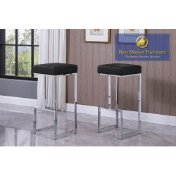 JL015 Chrome Bar Stools
