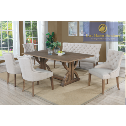 ZOEY Transitional Dining Set