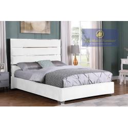 JJ025 Velvet Upholstered Bed