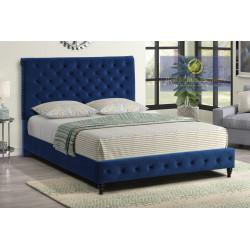 YY132 Velvet Upholstered Bed