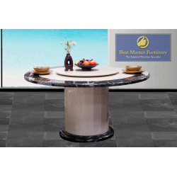 2926 Round Marble Dining Table