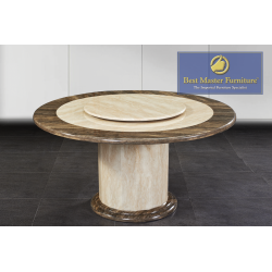 2927 Round Marble Dining Table
