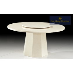 2929 Round Marble Dining Table