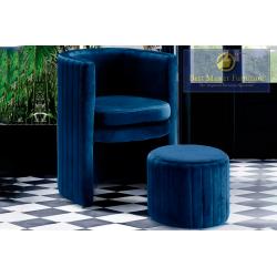 SH004 Accent Chair & Ottoman