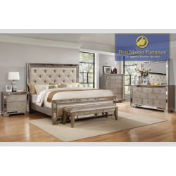B1980 Mirrored Bedroom Set