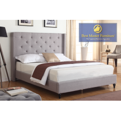 YY129 Upholstered Bed