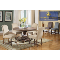 M084 Transitional Dining Set